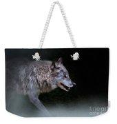 Wolf On The Prowl Weekender Tote Bag