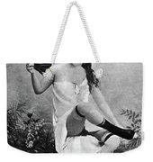 Woman And Fan, C1887 Weekender Tote Bag