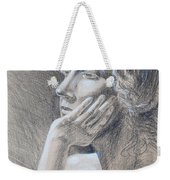 Woman Head Study Weekender Tote Bag