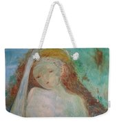 Woman Of Sorrows Weekender Tote Bag by Laurie Lundquist