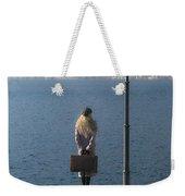 Woman On Jetty Weekender Tote Bag