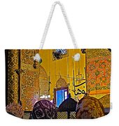 Women At Rumi's Mausoleum In Konya-turkey  Weekender Tote Bag