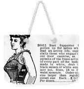 Women's Fashion, 1895 Weekender Tote Bag
