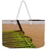 Wooden Slipway Rhos On Sea Weekender Tote Bag