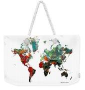 World Atlas  Weekender Tote Bag