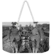 World War I: Soldiers Weekender Tote Bag