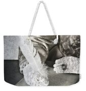 Writing Weekender Tote Bag by Joana Kruse