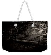 Ye Olde Bench In Bakewell Town Peak District - England Weekender Tote Bag