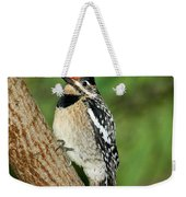 Yellow-bellied Sapsucker Weekender Tote Bag