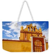 Yellow Colonial Church Weekender Tote Bag