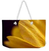 Yellow Flower Macro Weekender Tote Bag