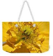 Yellow Iceland Poppy Weekender Tote Bag