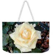Yellow Rose At Dawn Weekender Tote Bag