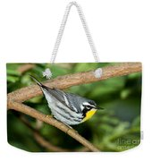 Yellow-throated Warbler Weekender Tote Bag