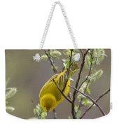 Yellow Warbler -1 Weekender Tote Bag