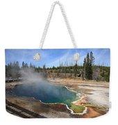 Yellowstone Park - Geyser Weekender Tote Bag