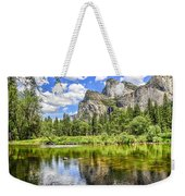 Yosemite Merced River Rafting Weekender Tote Bag