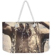 Young Man Having Fun On A Tropical Summer Holiday Weekender Tote Bag