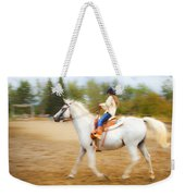 Young Rider Weekender Tote Bag
