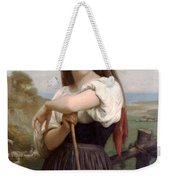 Young Shepherdess Weekender Tote Bag