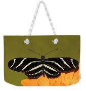Zebra Longwing Weekender Tote Bag