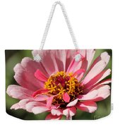 Zinnia From The Whirlygig Mix Weekender Tote Bag