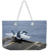 An Fa-18f Super Hornet Launches Weekender Tote Bag by Stocktrek Images