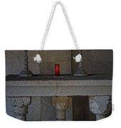 Ancient Spanish Monastery Weekender Tote Bag