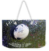 Barack Obama Star Weekender Tote Bag by Augusta Stylianou