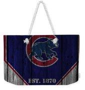 Chicago Cubs Weekender Tote Bag
