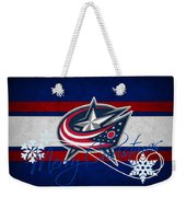 Columbus Blue Jackets Weekender Tote Bag