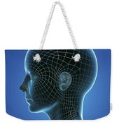 Digital Being Weekender Tote Bag
