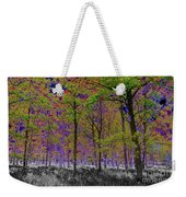 Forest Art Weekender Tote Bag