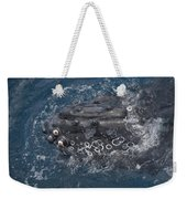 Humpback Whales Weekender Tote Bag