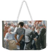 10. Jesus Before The People / From The Passion Of Christ - A Gay Vision Weekender Tote Bag