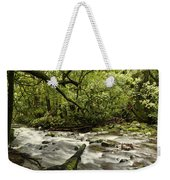 Jungle Stream Weekender Tote Bag