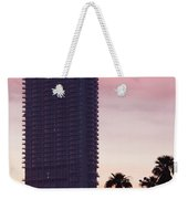 Low Angle View Of An Office Building Weekender Tote Bag