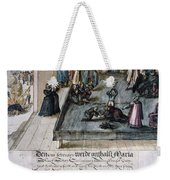 Mary, Queen Of Scots (1542-1587) Weekender Tote Bag