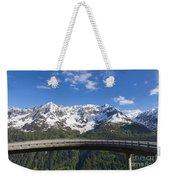 Mountain Road Weekender Tote Bag