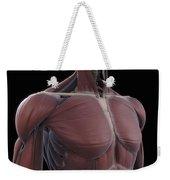 Muscles Of The Upper Body Weekender Tote Bag