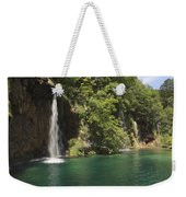 Plitvice Lakes National Park Croatia Weekender Tote Bag