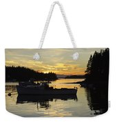 Port Clyde Maine Fishing Boats At Sunset Weekender Tote Bag