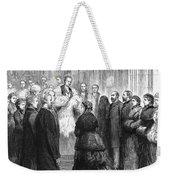 Queen Victoria (1819-1901) Weekender Tote Bag