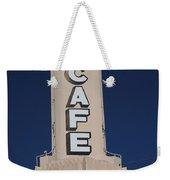Route 66 Cafe Weekender Tote Bag