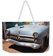 Route 66 Classic Car Weekender Tote Bag