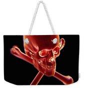 Skull And Crossbones Weekender Tote Bag