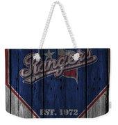 Texas Rangers Weekender Tote Bag