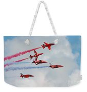 The Red Arrows Weekender Tote Bag