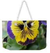 Viola Tricolor Heartsease Weekender Tote Bag