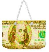 100 Dollar Weekender Tote Bag